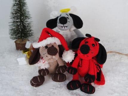 Häkeln: die Weihnachtsbande. Anleitung