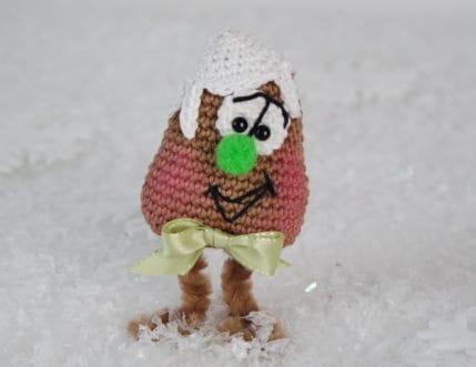 Weihnachten: Lebkuchenmännlein als Mitbringsel oder einfach so - Häkelanleitung