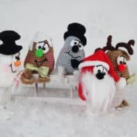 Juhu, Weihnachten wir kommen! Amigurumi häkeln