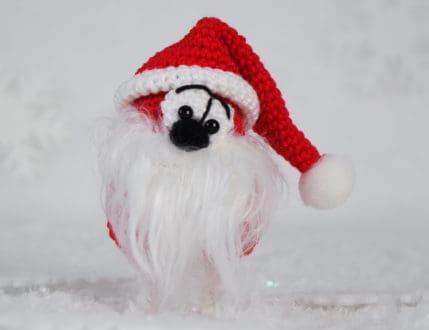 Häkeln: Weihnachtsmännlein - Klein und Süß auch als Mitbringsel - Anleitung