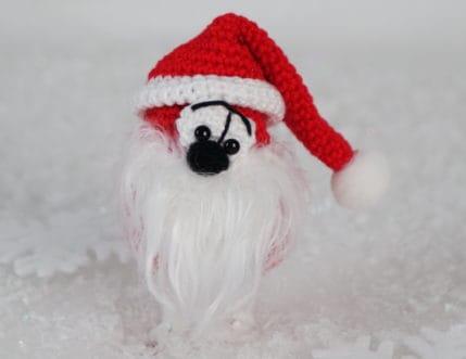 Ich bin von Kopf bis Fuß auf Weihnachten eingestellt: Weihnachtsmännlein häkeln - Anleitung