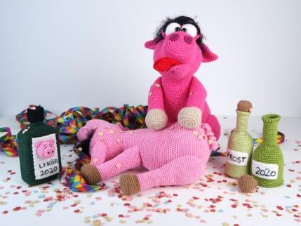 Häkeln: Wilde Party der Schweine. Anleitung