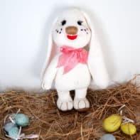 Der passende Hase zu Ostern. Häkelanleitung