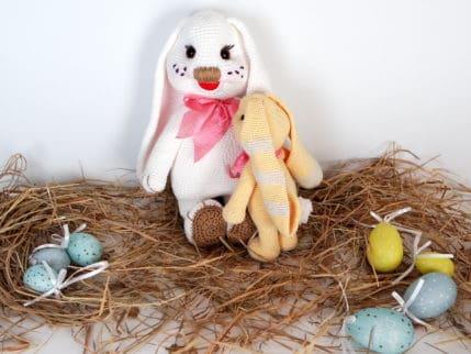 Zu Ostern einen Hasen häkeln