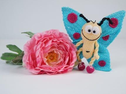 Amigurumi häkeln: Schmetterling