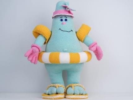 Häkelanleitung Puppe Susi Sommerspaß